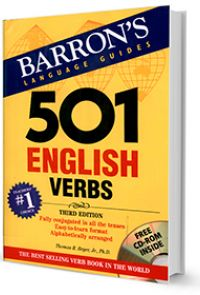 501 English verbs : fully conjugated in all the tenses in a new, easy-to-learn format, alphabetically arranged